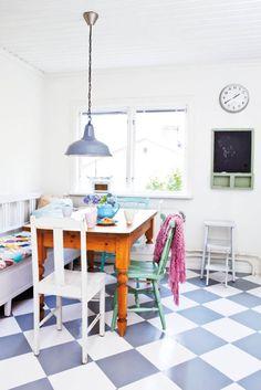 #kitchen #colors #floor