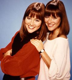 """Jean and Liz Sagal  . . . Wrigley's Doublemint Gum Twins . . . starred in """"Double Trouble"""""""