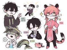 Fantasy Character Design, Character Design Inspiration, Character Art, Cute Art Styles, Cartoon Art Styles, Art Anime, Anime Chibi, Kawaii Art, Art Reference Poses