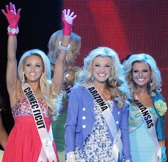How Connecticut and Arizona didn't advance that night is a pageant disaster ! To beautiful