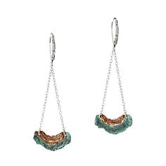 Look what I found at UncommonGoods: lichen earrings... for $55.4 #uncommongoods