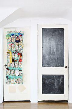 Blackboard door