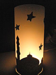 Mosque Night Light Craft