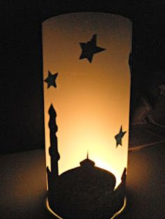 Mosque Night Light by A Crafty Arab. Would be a lovely addition to iftar table!