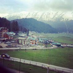 Village of Gulmarg in Kashmir, India
