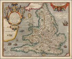 Map of England (1581)