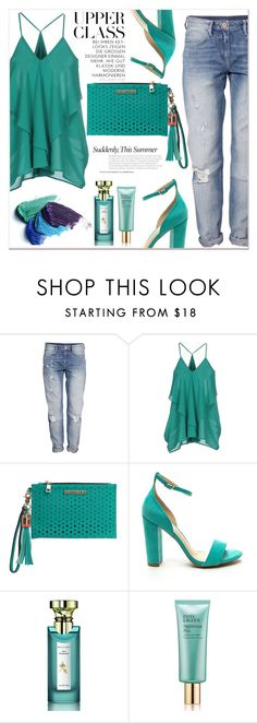 """Upper class"" by janee-oss ❤ liked on Polyvore featuring H&M, Minimum, Bulgari and Estée Lauder"