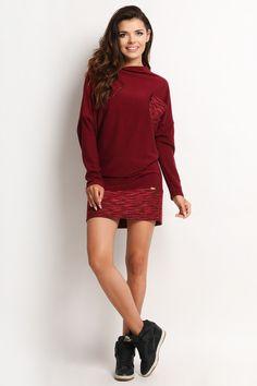Sukienka A117 - awama - Sukienki