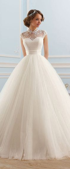 9 BALL GOWN WEDDING DRESSES YOU ARE SURE TO LOVE. Princess Wedding  DressesGown WeddingWhite ... 1aaa2d3a3900