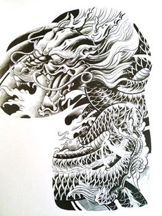 Banner Tattoo Flash   CHINA TATTOO - Fechamento de peito e braço