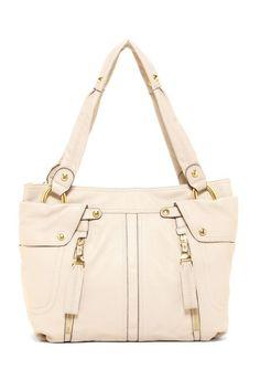 B. Makowsky Sadie Leather Shopper by Bags We Love on @HauteLook