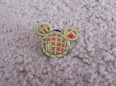 Hidden Mickey Pin Series III- Cherry Pie Mickey Icon *FREE SHIPPING!*