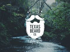 Logo for Texas Beard Company, a beard grooming company I co-founded with some friends.