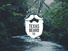 Logo for Texas Beard Company, a beard grooming company I co-founded with some friends.