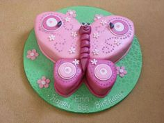 Beautiful Butterfly Cake.