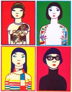 The Paris Prints, Ana Albero