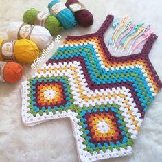 Crochet Shorts, Crochet Clothes, Crochet Top, Crochet Projects, Crochet Patterns, Embroidery, Blanket, Boho, Knitting