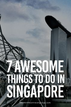 7 Awesome Things to Do in Singapore Singapore has a world class infrastructure, Changi airport bagged several awards including Best Airport in the World by World Airport Awards. Going around the city is very convenient by using their public bus system and the MRT. Buy an EZ link card for a convenient access to public transportation.
