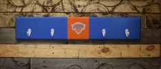A personal favorite from my Etsy shop https://www.etsy.com/listing/482237865/new-york-knicks-4-hook-hat-coat-rack