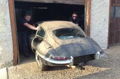 Read the tale of this 1963 Jaguar XKE barn find here: http://www.barnfinds.com/calendar-car-1963-jaguar-e-type/