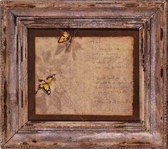 Joseph Cornell: Collage dedicated to Yayoi Kusama, c.1967.