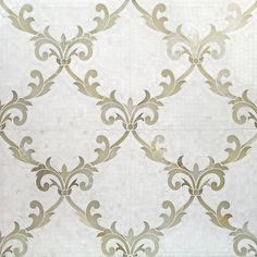 Shop For August White Thassos + White Onyx Polished Marble Tile at TileBar.com
