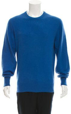 Hermès Cashmere Crew Neck Sweater Cashmere Sweater Men, Crew Neck, Just For You, Stylish, Tops, Fashion, Moda, Fashion Styles, Fashion Illustrations