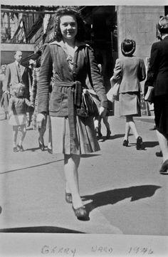 Gerry (Geraldine) Ward. c.1946