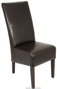 High Back Leather Dining Chairs  sc 1 st  Pinterest & Leather Upholstered Dining Arm Chair | Ideas for the House ...