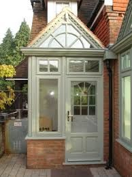 Find upvc porch windows and doors that look beautiful If you're hoping to incorporate a welcoming reception region to the face of your property, or even desire to offer passers by an understanding right into the taste as well as personality of t… Porch Uk, Front Door Porch, Porch Doors, Front Porch Design, Side Porch, House With Porch, Screened In Porch, House Front, Side Door