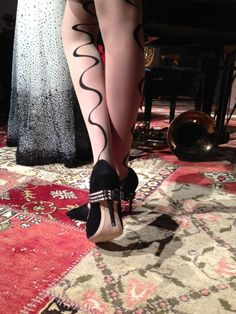Hello, heel. #NYFW @Alice Cartee Cartee + olivia #Fall2013 |2013 Fashion High Heels|