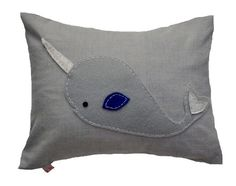 Narwhal cushion £28 Lettiebelle