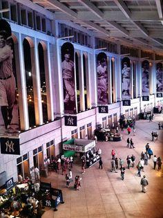 Overlooking the 100 level at Yankee Stadium.NY