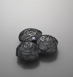 Youngjoo yoo,sterling silver,amethyst
