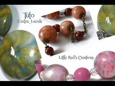 [Tuto polymère #1] Perles extra-lucides Cernit - Polymer clay Cernit tutorial - YouTube