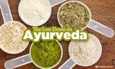 """Ayurveda simply put means, """"The science of Life or Knowledge of Life."""" It is an ancient system for living, closely connected to yoga since it originate"""