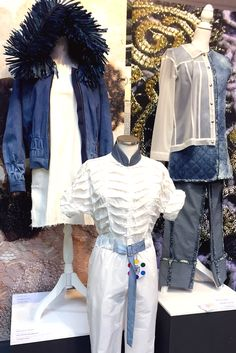 Fall Winter 2018/2019 Trends. Athleisure Fashion presented in MILANO UNICA, Milan Fabric and Garment Accessories Trade Fair/ Exhibition. This outfit is designed by students at Politecnico di Milano.