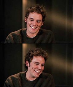 sam claflin, finnick odair, and smile εικόνα Sam Claflin, Bad Boy, Actrices Hollywood, Dimples, Man Crush, Cute Guys, Celebrity Crush, Hunger Games, Gorgeous Men