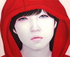 04_Red hood_38X45.5cm_oil on canvas_2014