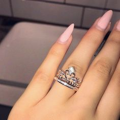 Morganite engagement ring rose gold Unique diamond Cluster ring Vintage wedding Mini stone Bridal set Jewelry Anniversary Gift for women - Fine Jewelry Ideas Cute Rings, Unique Rings, Beautiful Rings, 15 Rings, Cute Jewelry, Jewelry Accessories, Women Jewelry, Jewelry Ideas, Diamond Jewelry