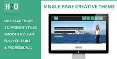 See More H2O - Flat Styled Single Page Themewe are given they also recommend where is the best to buy