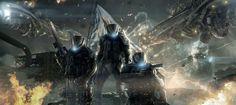 ARMADA WARS official cover, Phelan A. Davion on ArtStation at https://www.artstation.com/artwork/armada-wars-cover
