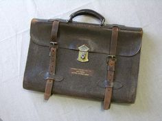 vintage 1940's WW II era US Army Air Force leather by StyleStash, $65.00