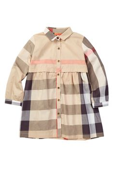 Image of Funkyberry Spread Collar Plaid Dress (Toddler, Little Girls, & Big Girls)