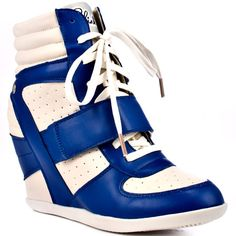 The Adirr in Blue White from Blink - http://womenspin.com/shoes/the-adirr-in-blue-white-from-blink/