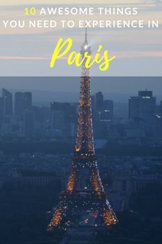 From the Eiffel tower and the Louvre, to macraons and pastries. Learn more about the best things to do in Paris, France - the world's most romantic city! | Ravenous Travellers - Travel Blog