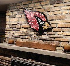 Arizona Cardinal made from expired Arizona license by PopArtPlates