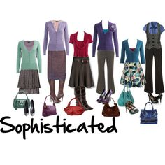 """""""Sophisticated"""" capsule wardrobe in a muted, dusty summer palette."""