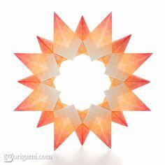 Origami Sun | Flickr - Photo Sharing!