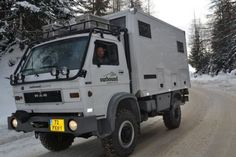 Heavy duty off-road camper truck thing